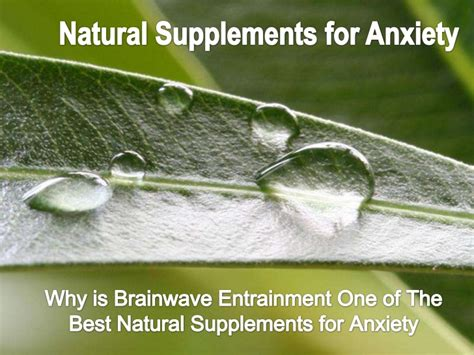 supplement for anxiety supplements for anxiety