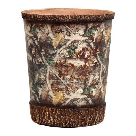 Camo Bathroom Accessories Camo Bath Accessories Camouflage Waste Basket Camo Trading