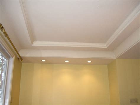 what is a coffered ceiling i like the canned lights installed at the end of the room