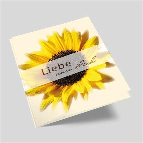 Hochzeitseinladung Mit Bild by Hochzeitseinladung Sonnenblume In Ihrer Pracht