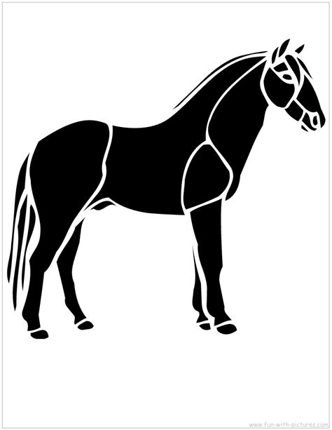printable stencils of horses horse pumpkin carving stencils free stencils to print