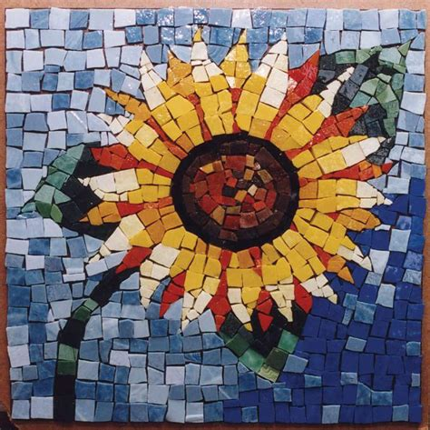 Paper Mosaic Crafts - 35 s day flowers favecrafts