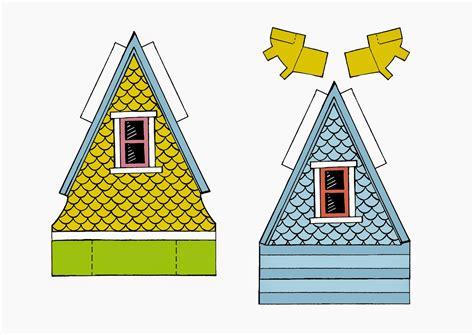 printable house up peach bum up house printable template