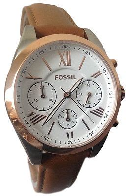 fossil idealist light brown leather fossil es3855 white brown leather