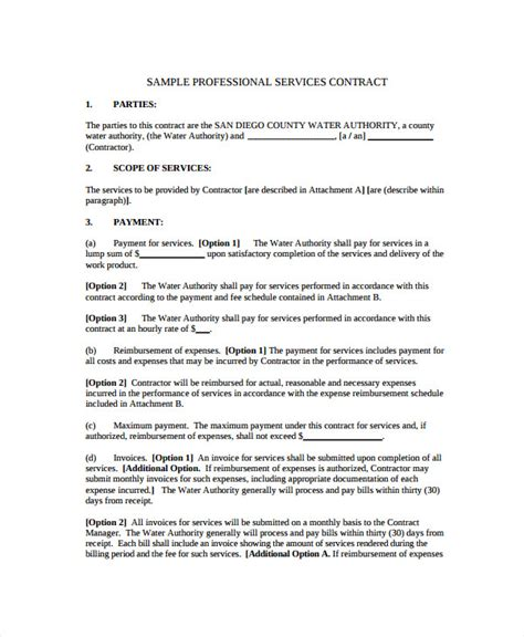 sle business service agreement 9 free documents