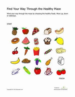 activity 3 carbohydrates puzzle answers find your way through the healthy maze worksheet