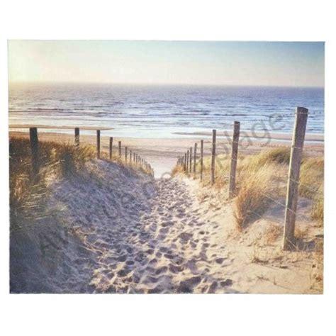 toile imprim 233 e chemin dans les dunes deco bord de mer