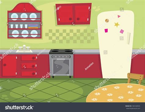 kitchen cartoon a cartoon kitchen labulledaria com