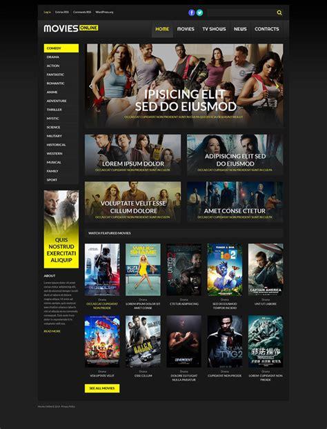 wordpress themes for live tv 20 best responsive tv movie and video blogging wordpress
