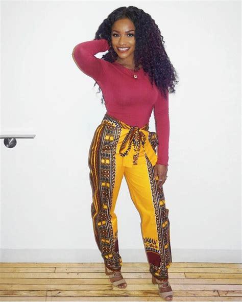 ankara combination styles pants inspired ankara pants styles