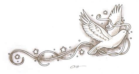 dove with ribbon tattoo designs 1000 images about all things dove related on