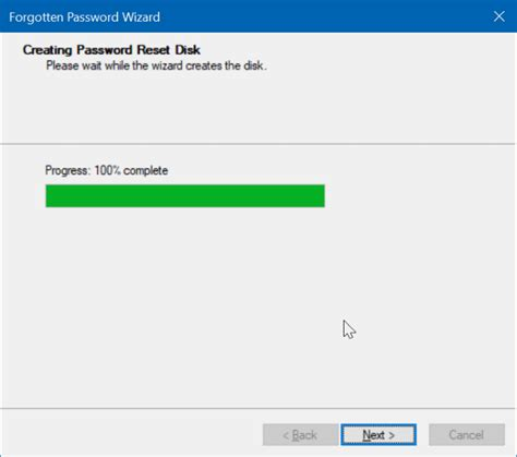 reset windows password via usb how to create windows 10 password reset disk on usb drive