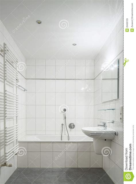 Bathroom Floor Plans With Tub And Shower white tiled bathroom royalty free stock images image