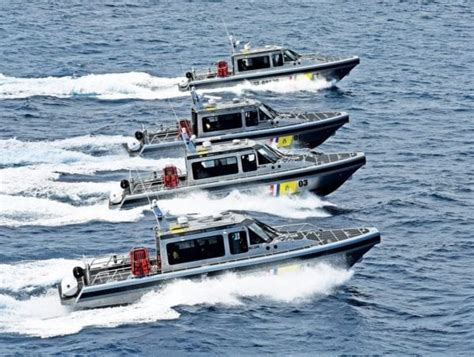 metal shark boat speed new patrol boats for dutch caribbean coast guard in