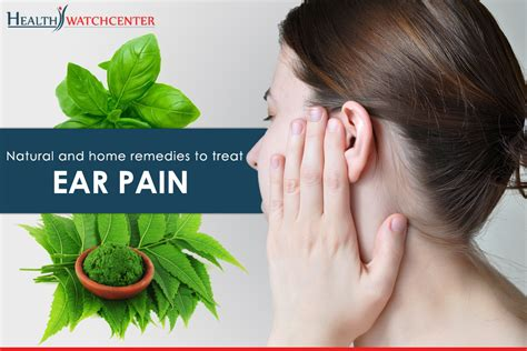 home remedies to treat ear