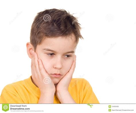 Floor Plan In French by Worried Boy Stock Photo Image 13433430