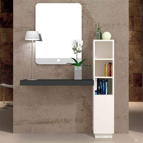 mueble recibidor de diseno en melamina personalizable