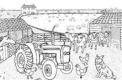 animali da cortile da colorare disegni per bambini con animali della fattoria foto 6 6