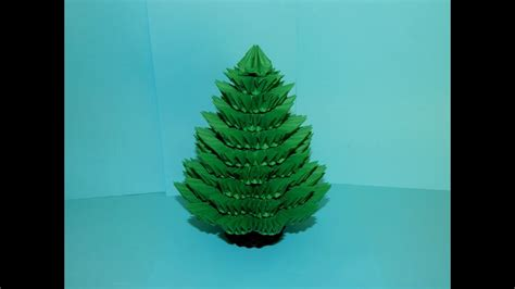 3d Origami Tree - 3d origami tree tutorial part1