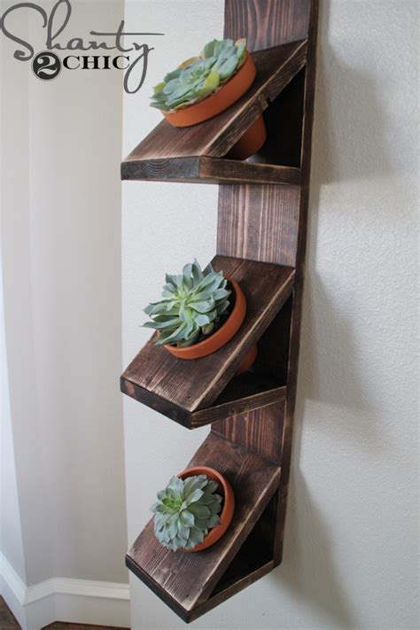 How To Make Wall Planters by Diy Wall Planter With Succulents Shanty2chic Bloglovin