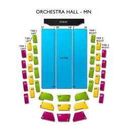 orchestra hall mn seating chart vivid seats
