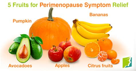 5 fruits in 5 fruits for perimenopause symptom relief