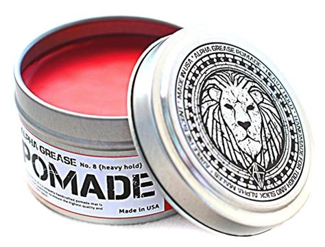 Hair Styling Port City Pomade alpha grease hair pomade for great for curly