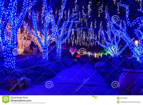 virginia holiday festival walk of lights royalty free