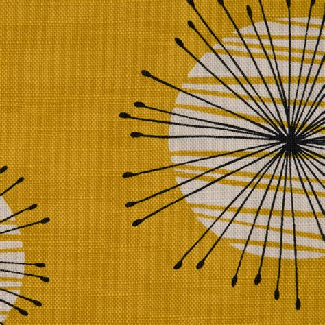 Yellow Upholstery Fabric Uk by Dandelion Mobile Missprint