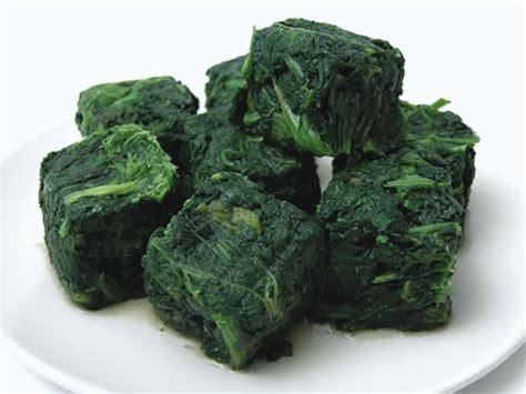 cucinare spinaci surgelati spinaci a cubetti verdure golosia srl