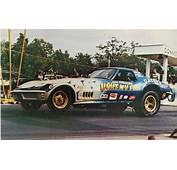 The LIGHT MY FIRE Corvette Funny Car  Vintage Floppers