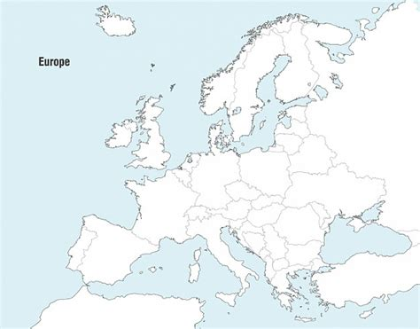 free vector map 2 europe map vector vector free