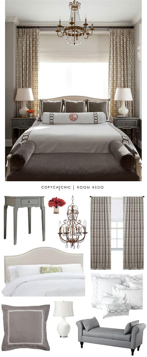 copy cat chic room redo classic gray bedroom copycatchic
