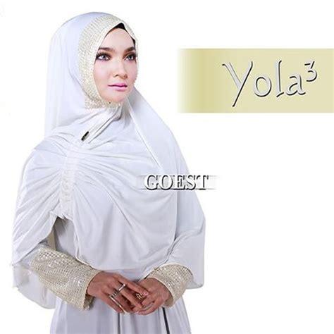 Khimar Bergo Jilbab Syari Dubai Sequin Murah khimar yola seri 3 by goest pusat grosir jilbab modern