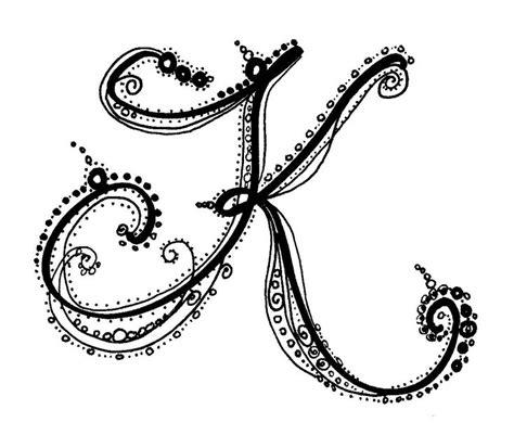 tattoo fonts letter k calligraphy styles fonts fancy script dominic vasquez