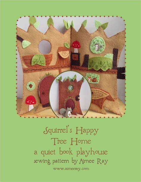 Squirrel Sound Book With Doll 203 best felt and fabric houses images on doll houses dollhouses and fabric houses
