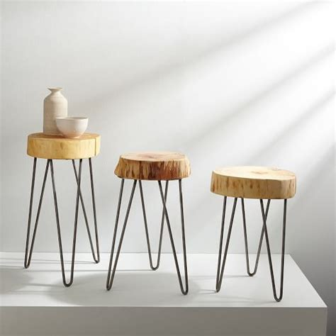 Stump Side Table Gong Design Stump Side Table West Elm