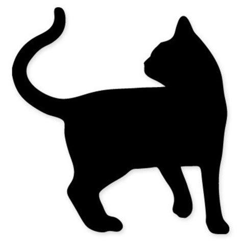 Wall Sticker Black Siluet Uk 60x90 cat shape black silhouette car vinyl sticker select size
