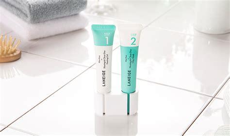 Laneige Mini Pore Heating Clean Duo Gel Clay Mask laneige mini pore heating clean duo 15ml 2 skincare b2b harbour world
