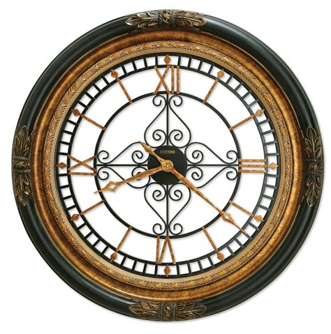 large wall clocks howard miller rosario oversized wall clock 625 443