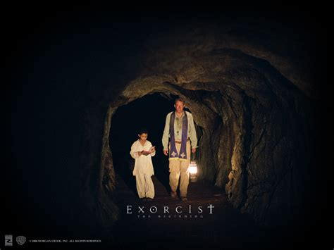 film exorcist the beginning the exorcist the beginning horror movies wallpaper