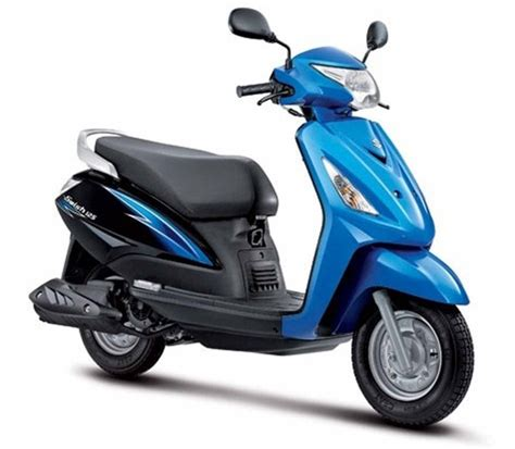 Suzuki Scuter Suzuki 110 Cc Scooter Hayate Facelift For Auto Expo 2014