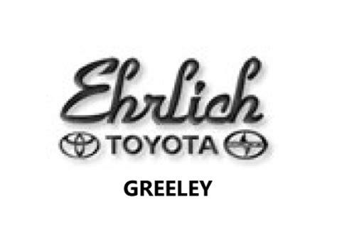Ehrlich Toyota Greeley East Colorado Sbdc
