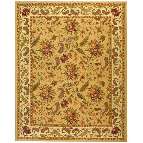 9 X 11 Area Rugs Safavieh Chelsea Ivory 8 Ft 9 In X 11 Ft 9 In Area Rug Hk141a 9 The Home Depot