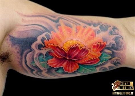 fiori di loto sul braccio oltre 25 idee originali per tatuaggi di fiori sul braccio