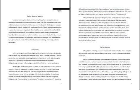 3 Page Essay Exle by The Of Pun Punmonster Why Yes I Did Write A 15 Page Essay