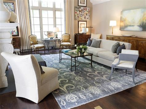 area rug in living room photos hgtv