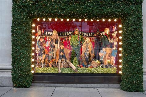 christmas house window displays from john lewis to selfridges retailers christmas window displays