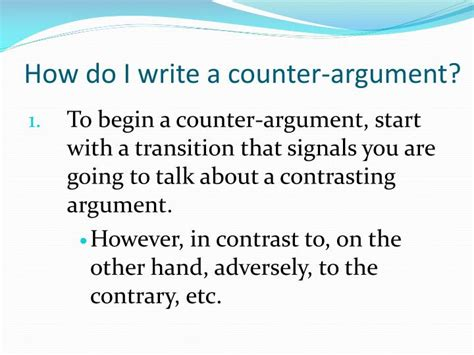 How Do We Write Essay by Persuasive Essay Counter Argument Exle How To Write A Persuasive Essay With Free Sle Essay