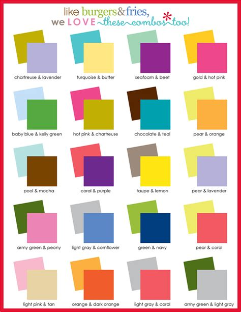 good color pairs love the color guide can use for my uppercaseliving